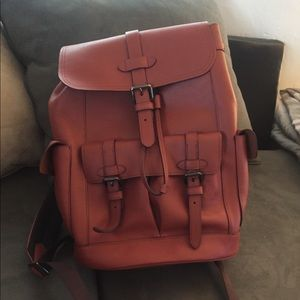 Coach Back Pack Terracotta